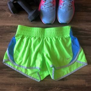 Nike Running Shorts w/ Briefs size Small